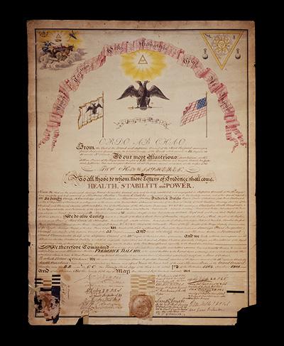 Rev. Frederick Dalcho's 33rd Degree Patent