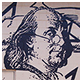 "Thumbnail of Bro. Benjamin Franklin from ""Masters of the Revolution"" mural"