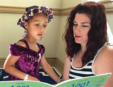 A RiteCare SRCLP clinician and child