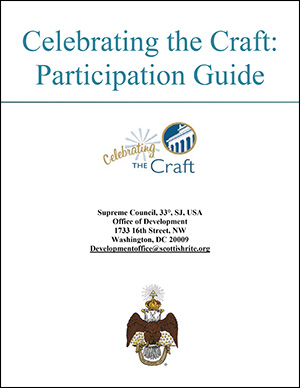 Front cover of the Celebrating the Craft: Participation Guide
