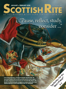 Cover of the May - June 2017 Scottish Rite Journal