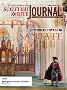 Cover of the March-April 2019 Scottish Rite Journal