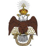 33° Scottish Rite Double-headed Eagle logo