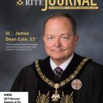 Cover of the November-December 2019 Scottish Rite Journal featuring a portrait of SGC James D. Cole, 33°