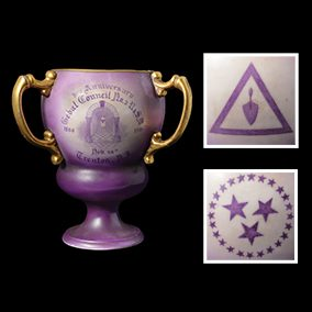 Royal and Select Masters Commemorative Tyg, or Pass Cup