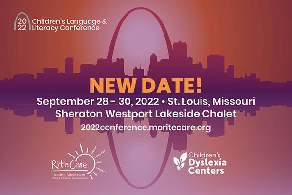 UPDATE: Children's Language & Literacy Conference (RiteCare SRCLP) New Dates