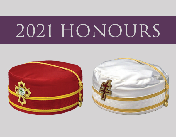 2021 Scottish Rite Honourmen Announced