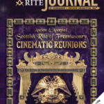 The cover artwork is representative of the digital artwork and animation created and used throughout the production of the Cinematic Reunion. It is based in part on the original art used in the traditional Scottish Rite Member Patent.