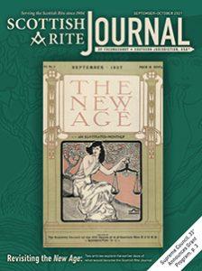 Cover of the September-October 2021 Scottish Rite Journal