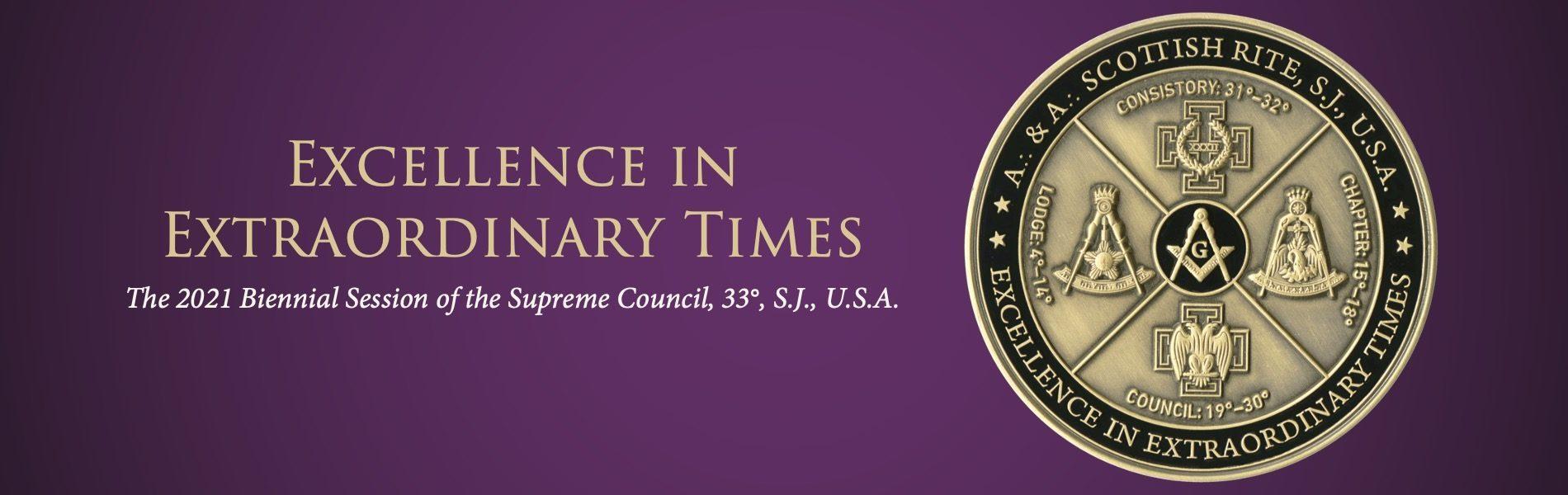 2021 Public Session of the Supreme Council, 33°, S.J., U.S.A.
